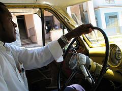 taxi driver, Havana Cuba