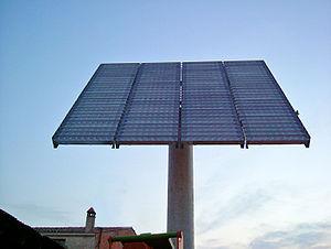 {{ca|1=Planta de concentració fotovoltaica a T...