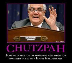 Barney Frank - Chutzpah